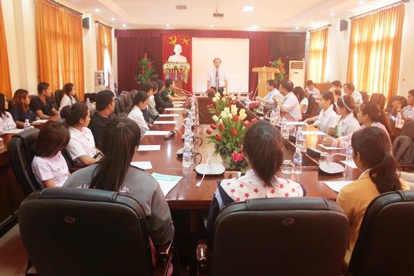 Sinh viên Trường Đại học Kasetsart sang học tiếng Việt và giao lưu văn hóa tại Trường Đại học Hà Tĩnh