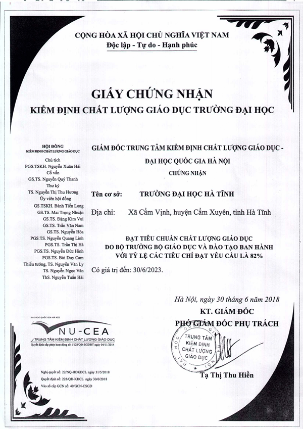 GCN kiem dinh chat luong giao duc 1
