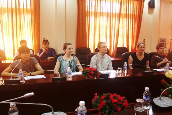 Dự án Sinh viên toàn cầu lần thứ 2 tại Trường Đại học Hà Tĩnh